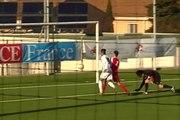 Coupe Gambardella - OM 6-0 Cannes : le but de Florian Chabrolle (44e)