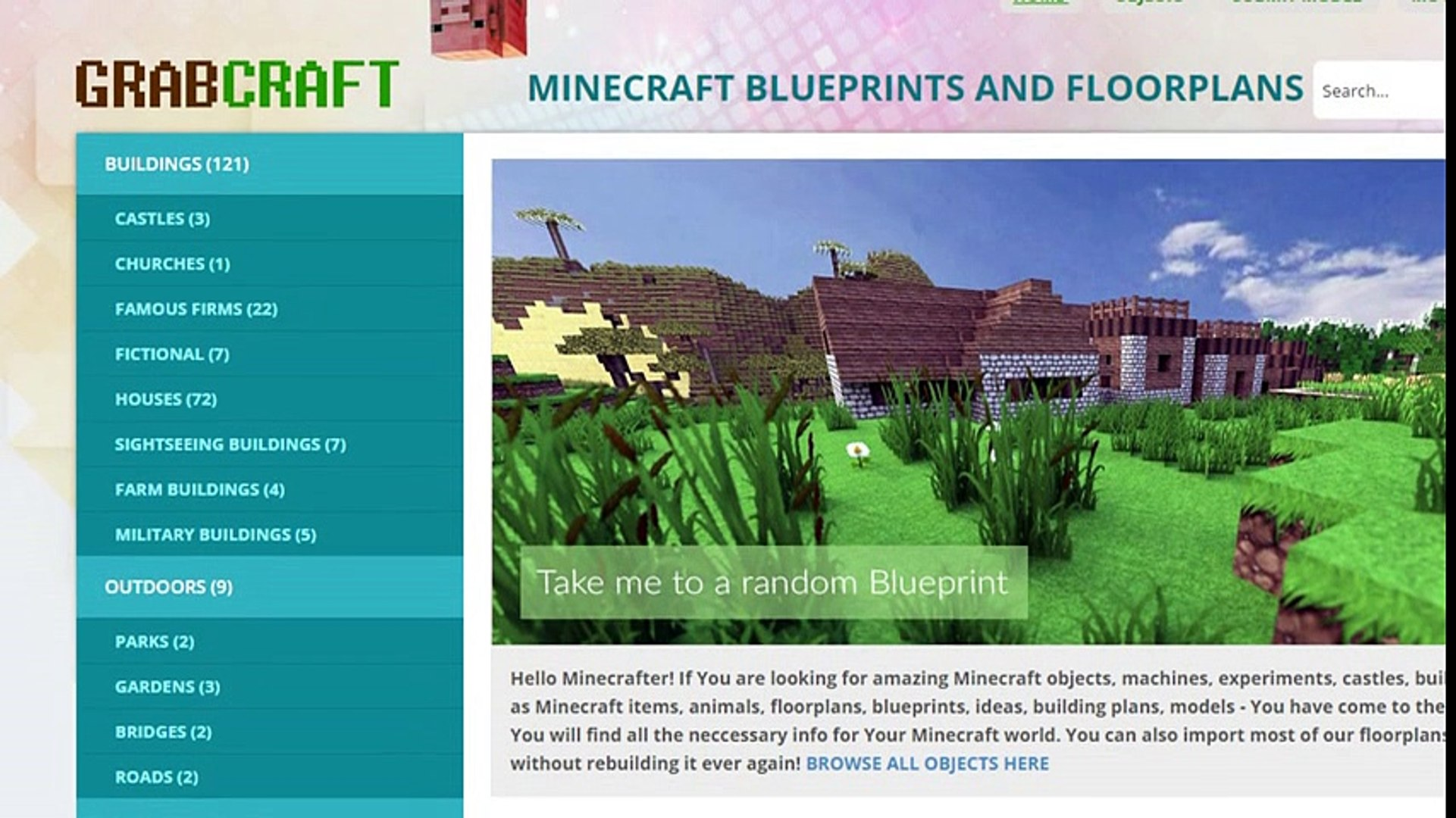 Searching For Minecraft Minecraft Buildings Blueprints Or 3d Models Online