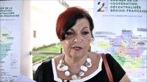 Rose-Marie Saint Germès Akar, présidente du groupe-pays Bénin de Cités Unies France