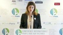 """""""Personne n'est épargné par le terrorisme"""", souligne Juliette Méadel en marge de la conférence internationale sur l'aide aux victimes"""