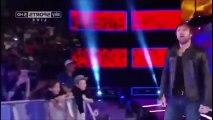 Maryse Slaps Dean Ambrose HD WWE SmackDown Live 1 3 17 - WWE SmackDown Live 3rd January 2017