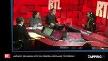 Anthony Kavanagh s'en prend violemment à France Télévisions (vidéo)