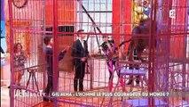 Un lion enfermé dans une cage dans l'émission de France 2 Actuality