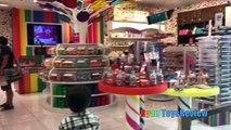 Ryan ToysReview Family Fun Trip Airplane to NYC Kinder Surprise Eggs Opening Kids Disney Toys Mashem
