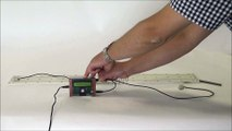 Plug'Uino® Mécanique et Son (vidéo 9/9) Vitesse du son dans un solide