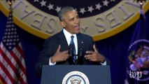 Obama: 'We have shown the capacity to change'