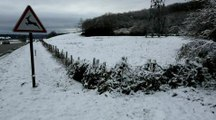 La neige tombe dans le Nord-Isere...