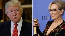 Donald Trump s'en prend à l'actrice Meryl Streep