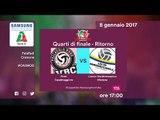 Casalmaggiore - Modena 3-0* - Highlights - Ritorno Quarti di Finale - 39^ Coppa Italia