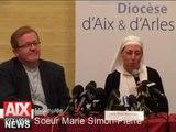 Miraculée Soeur Marie simon-Pierre