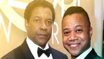EXCLUSIVE: Denzel Washington and Cuba Gooding Jr. Had the Best Red Carpet Run-In at Golden Globes