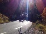Izoard, accident de moto