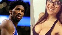 Joel Embiid Savagely TROLLS Porn Star Mia Khalifa Over Meek Mill Photo on Instagram