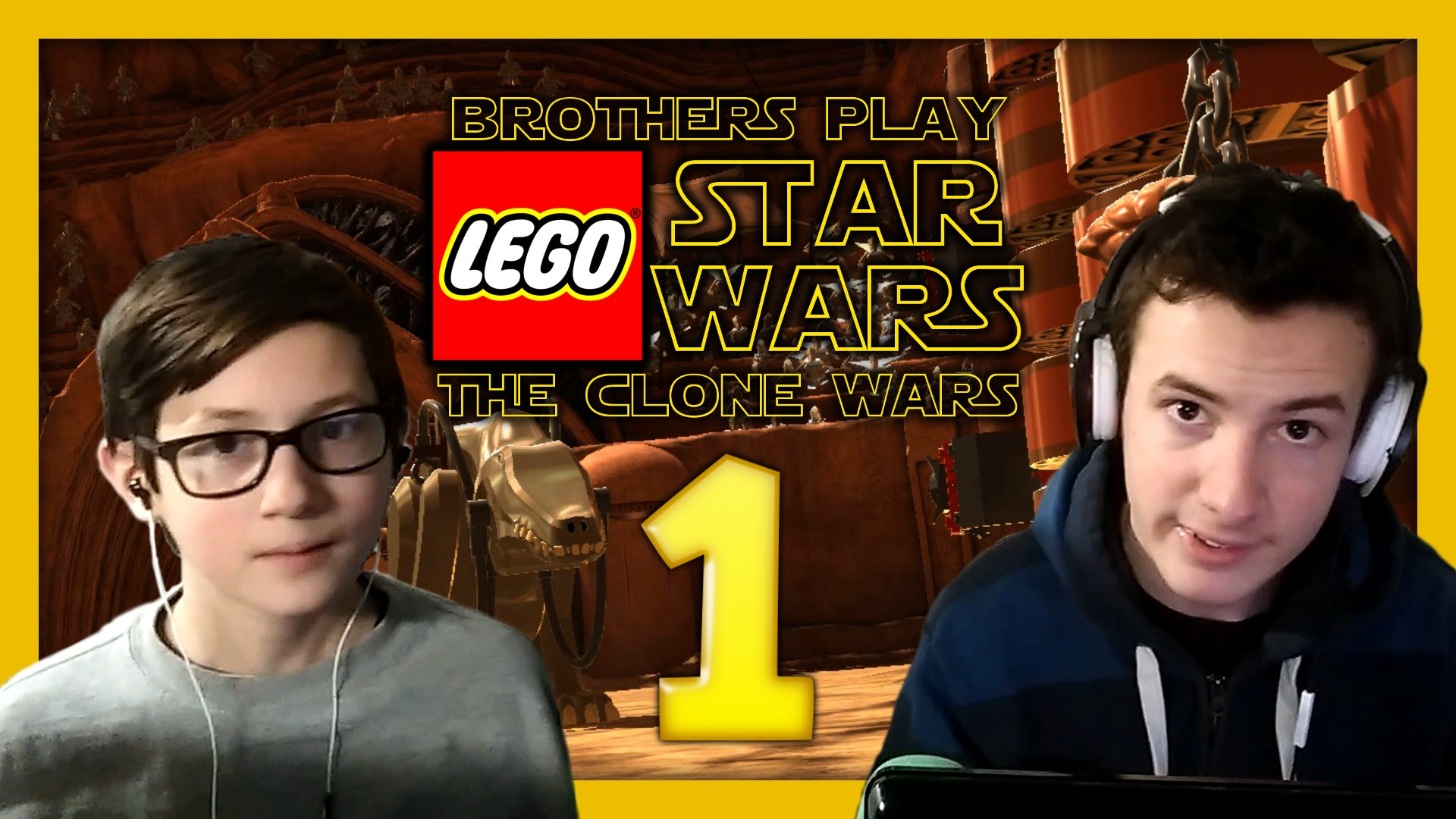 'Geonosian Arena' Brothers Play LEGO Star Wars III: The Clone Wars Episode 1