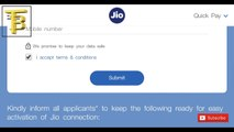 HINDI  HOW TO GET JIO SIM FREE HOME DELIVERY SERVICE AND JIO HAPPY NEW YEAR OFFER