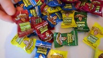 NEW WARHEADS CHALLENGE EXTREME SOUR CANDY | TOXIC WASTE | Toys AndMe