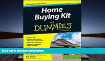 Read  Home Buying Kit For Dummies  Ebook READ Ebook