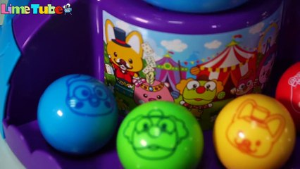 Pororo Circus Ball Challenge sing - LimeTube & Toy