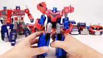 Transformers Movie G1 Rid Prime Beast Hunters Rescue Voyager Optimus Prime Vehicle Robot Car Toys