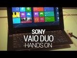 Sony Vaio Duo 11 Hands On