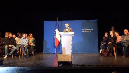 Nevers est en marche   Emmanuel Macron