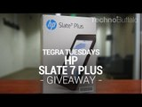 Tegra Tuesday Giveaway: HP Slate 7 Plus Giveaway
