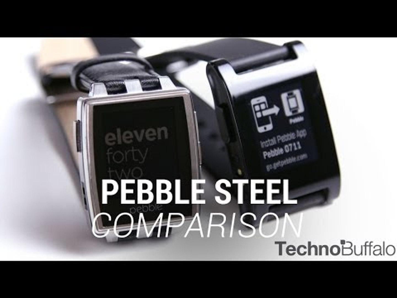 Pebble Steel Comparison