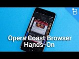 Opera Coast Hands-On - A Beautiful Browser With Some Neat Tricks