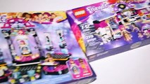 Lego Friends Pop Star Studio - Dressing Room - Stage - Bus - Limo Speed Build