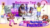 """Bedroom Test"" (French Lesson 23) CLIP – Kindergarten French, Jardin d'enfants, J'aime Française-7oMTUjvZ5pA"