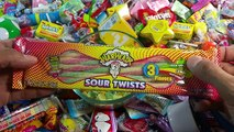 Nintendo Candies Mario Bros Candies & A lot of New Candy Learn Colors with Candies