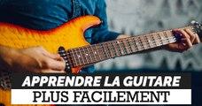 Ce dispositif ingénieux permet d'apprendre la guitare plus facilement