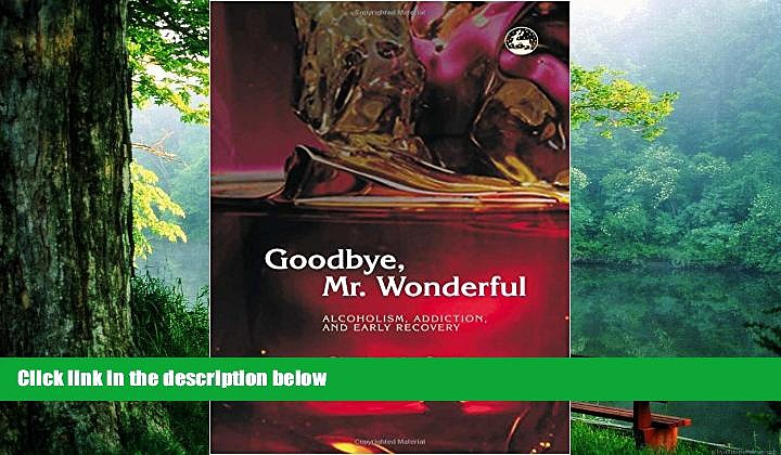 Read Book Goodbye, Mr. Wonderful: Alcoholism, Addiction and Early Recovery Chris McCully  For Free