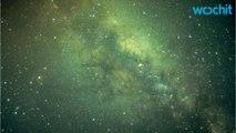 Milky Way's Black Hole May Hurl Halactic Spitballs Our Way