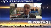 HPyTv Tarbes | Gérard Trémège élu président de l'agglo Tarbes Lourdes Pyrénées (9 janvier 2017)