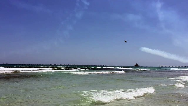 The Blue Angels Flew To Close To This Beach And Caused Chaos