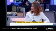 """Le lapsus d'une journaliste à François de Rugy :""""vous étiez sur la tombe de François Hollande"""" (vidéo)"""