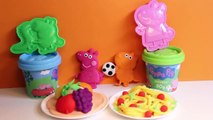 Play Doh Peppa Pig Space Rocket Dough Playset Peppa Pig Molds and Shapes Figuras