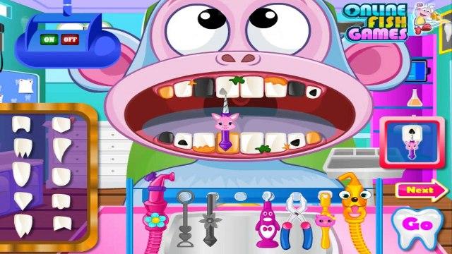 Dora The explorer Games - Dora/Boots Games Dentist - Dora The Explorer Games for Girls & Children