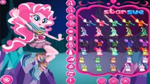 My Little Pony Equestria Girls Legend of Everfree Pinkie Pie Dress up