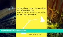 Kindle eBooks  Studying and Learning at University: Vital Skills for Success in Your Degree (SAGE
