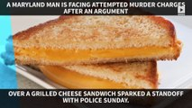 Man opens fire after wife bites his grilled cheese sandwich