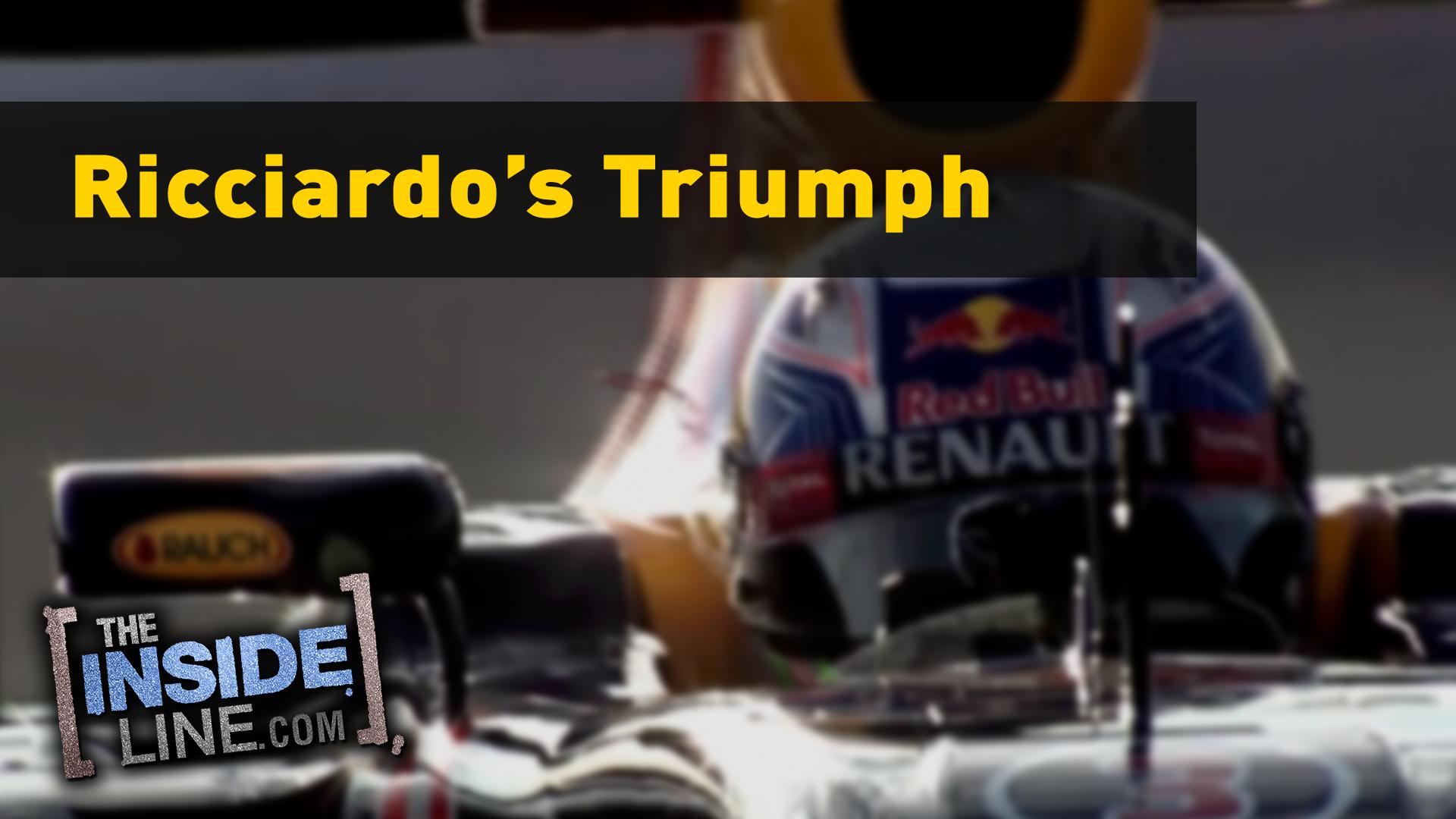Ricciardo's Triumph