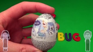 Disney Frozen Surprise Egg Word Jumble! Spelling Creepy Crawlers! Lesson 2 Toys for Kids!-xbH5c2Dnq_o
