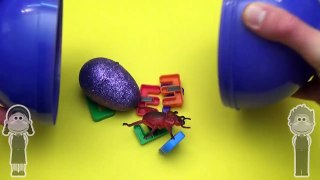 Disney Inside Out Surprise Egg Word Jumble! Spelling Creepy Crawlers! Lesson 13 Toys for Kids!--ohGXmL4kS0