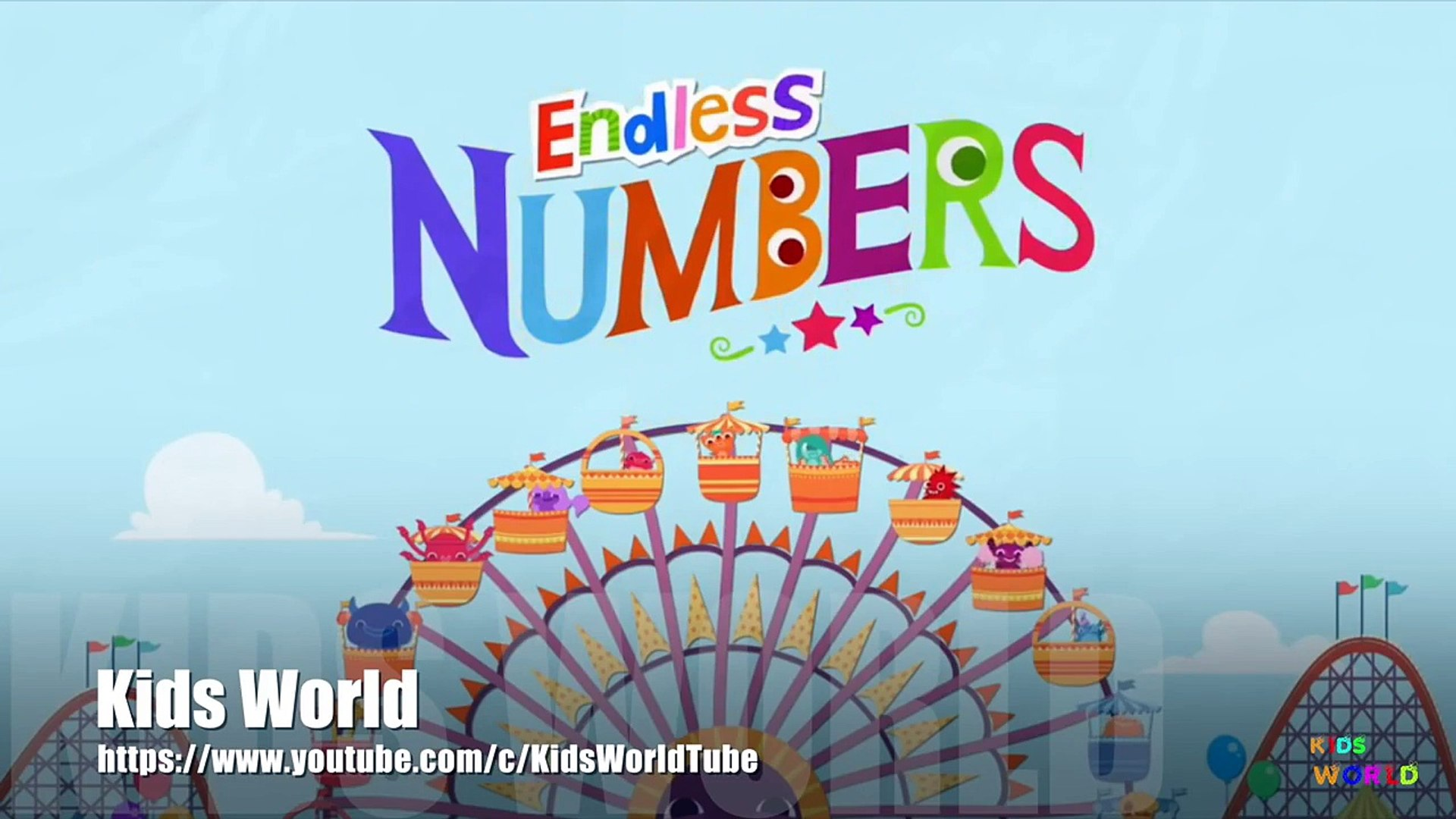 Endless Number, Kids Education Apps, Learn English Number  46 to 50