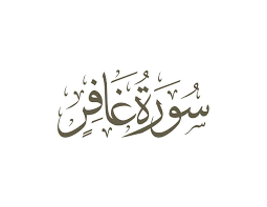 beautiful quran recitation سورة غافر بصوت الشيخ سلمان العتيبي - video  dailymotion