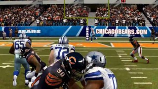Simulación Monday Night Football - Madden NFL 25 - Cowboys vs Bears-4YonKeZEAhw