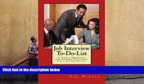 Download Job Interview To-Do-List: A Simple Makeover for Anyone Preparing for a Job Interview For