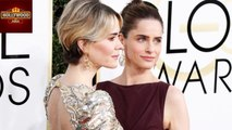 Golden Globe Awards 2017 - Sarah Paulson & Amanda Peet Kiss On Red Carpet | Hollywood Asia